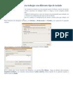 Configurar Ubuntu Para Trabajar Con Diferente Tipo De