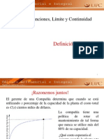 1.2 Limite de Funciones UPC