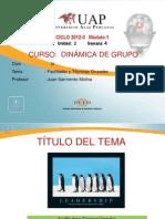 Sesion 4-Dg Facilitador y Tecnicas Grupales