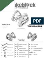 Makeblock Triangular Tank