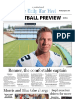 UNC Football Preview, 2013-2014