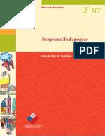 Programa Pedagogico Segundo Nivel de Transicion
