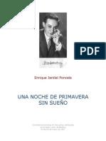 Jardiel Poncela - Una Noche De Primavera Sin Sueño
