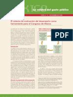 El SED como herramienta del congreso de México