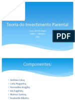 Teoria Do Investimento Parental