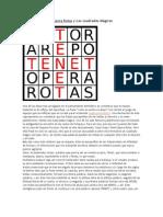 Sator Arepo Tenet Opera Rotas y Los cuadrados Mágicos