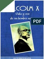 Malcolm X-Vida y Voz de Un Hombre Negro Autobiografia y Seleccion de Discursos