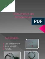 Instrumento de Temperatura