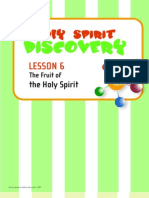 HSDK Lesson 6 the Fruit of the HS