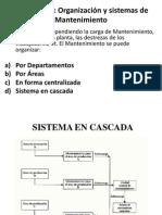 Clase 2 - Organización y Sistemas de Mantenimiento (Parte 1)