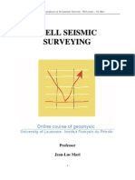 Well Seismic Surveying
