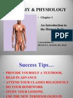 Anatomy Chp 1