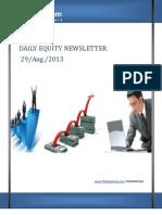 Equity Market Updates 29-August
