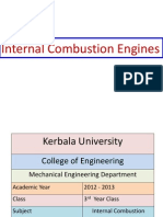 I. C. Engine - 3rd Year Engineering Coursre