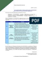 Supervisión y Fiscalización de Actividades Minero Energéticas & Régimen Común de Fiscalización Ambiental