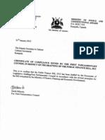 Public Finance Bill 2012