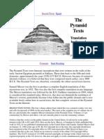 Samuel a. B. Mercer - Translator - The Pyramid Texts