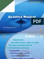 Presentacion Acustica Musical