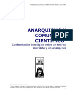 Anarquismo y comunismo científico - Luigi Fabbri
