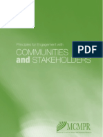 Principles for Community Engagement 2006