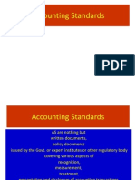 Accounting Standards-Introduction and List for MBA students