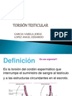 Torsion Testicular, Expo