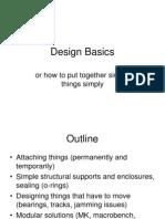 Machine Design basic