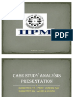 61027818 Case Study Analysis Ppt