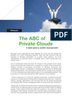 The ABC of Private Cloud