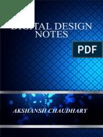 Digital Design Notes