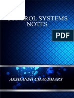 Control Systems Notes