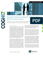 Granular Pricing of Workers' Compensation Risk in Excess Layers