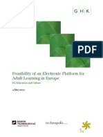 Grundtvig E-learning for Adults