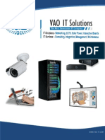 VAO IT SOLUTIONS BROCHURE