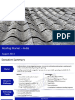 Market Research Report :Roofing Market in India 2013