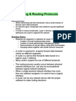 Routing&Routing Protocols