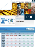 Daily Commodity Report 29-08-2013