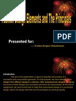 Fashion Design Elements and the Principals