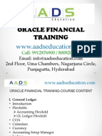 Online Oracle Financial Training in Hyderabad