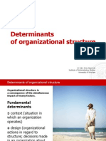 Supernat_Determinants of Organizational Structure