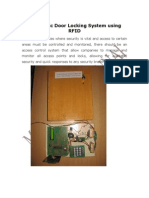 RFID PROJECT ABSTRACT-Automatic Door Locking System Using RFID