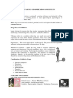 Drugs of Abuse Classification and Effects 04