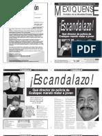Versión impresa del periódico El mexiquense  29 agosto 2013