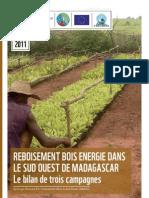 Reboisement Bois Energie dans le Sud Ouest de Madagascar – Le Bilan de Trois Campagnes (WWF – 2011)