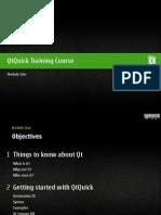 Qtquick Course Module 001