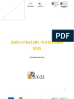 Ghid Utilizare Platforma ICOS