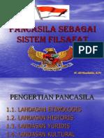 PANCASILA SEBAGAI Filasafat