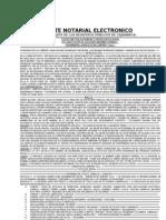 Parte Notarial Electronico