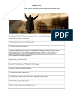 Amazing Grace Worksheet