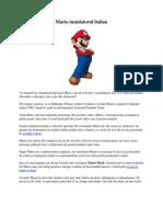 Mario instalatorul italian